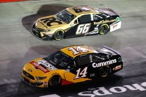 Clint Bowyer, Stewart-Haas Racing, Ford Mustang Rush Truck Centers/Cummins, Timmy Hill, Motorsports Business Management, Toyota Camry RoofClaim.com