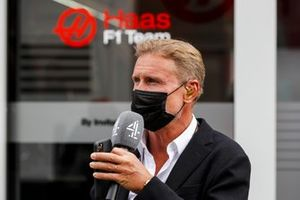 Presenter David Coulthard, Channel 4 F1