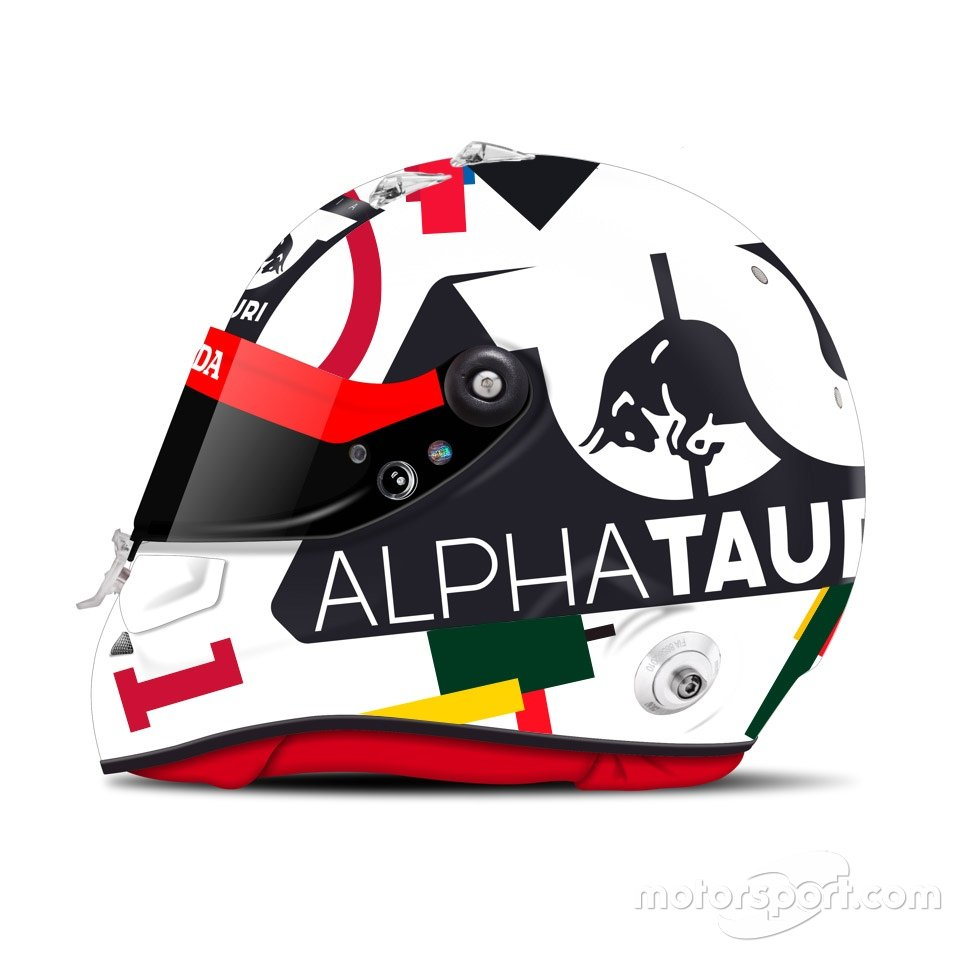 Шлем Даниила Квята для Гран При России 2020 года