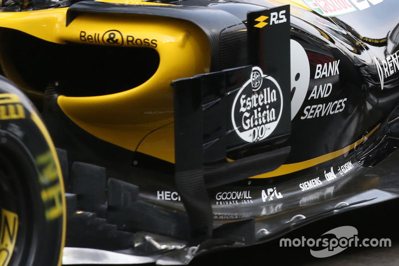 Renault R.S. 18 of Nico Hulkenberg technical detail