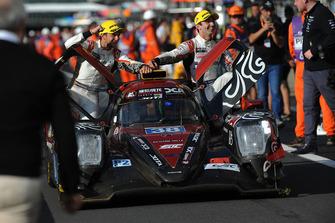LMP2 yarış galibi #38 Jackie Chan DC Racing Oreca 07 Gibson: Ho-Ping Tung, Gabriel Aubry, Stephane Richelmi