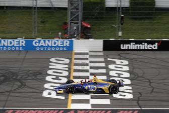 Alexander Rossi, Andretti Autosport Honda krijgt de vlag
