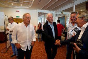 Giorgio Piola, Tronchetti Provera, Mario Isola e Franco Nugnes