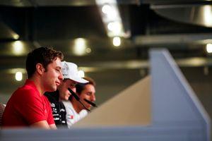 Robin Frijns, Audi Sport Team Abt Sportsline, Joel Eriksson, BMW Team RBM ve Daniel Juncadella, Mercedes-AMG Team HWA