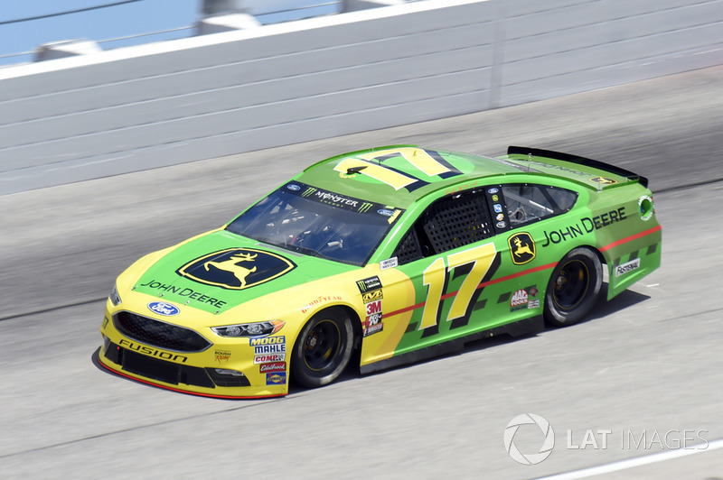 Ricky Stenhouse Jr., Roush Fenway Racing, Ford Fusion John Deere