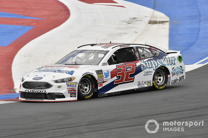 28. Matt DiBenedetto, Go FAS Racing, Ford Fusion Superior Logistics Services, Inc.