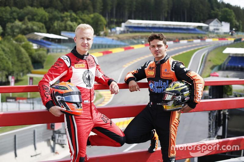 Les vainqueurs du Hungaroring, Nikita Mazepin et Dorian Boccolacci