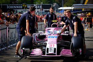 La Force India VJM11 d'Esteban Ocon