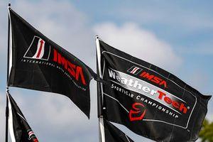 IMSA flags