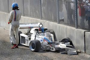 Vintage Accidente de F1