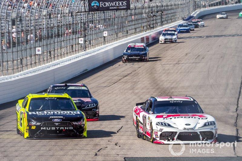 Harrison Burton, Joe Gibbs Racing, Toyota Supra Dex Imaging, Kaz Grala, Richard Childress Racing, Chevrolet Camaro HotScream
