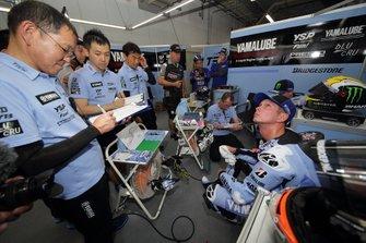 #2 Yamaha Factory Racing: Michael van der Mark