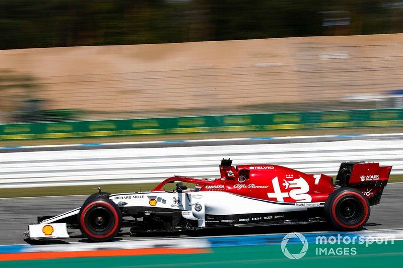 5 - Kimi Raikkonen, Alfa Romeo Racing C38 - 1'12.538