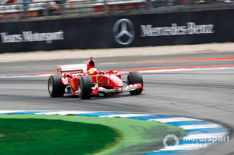 Мик Шумахер, Ferrari F2004