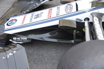 Alfa Romeo Racing C38 front wing detail