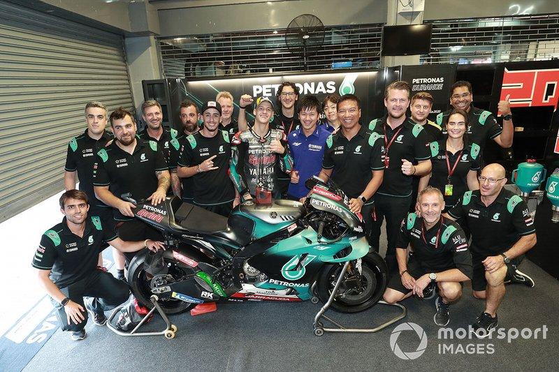 Segundo lugar Fabio Quartararo, Petronas Yamaha SRT