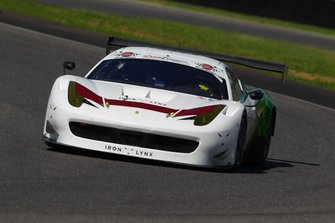 #134 Ferrari 458 GT3-GT Light, Iron Linx srl: Mayer-Schiavoni-Pianezzola