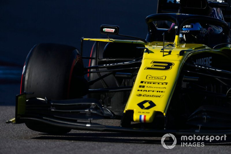 10º: Daniel Ricciardo, Renault F1 Team R.S.19