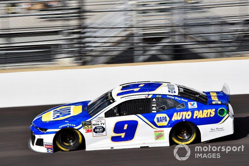 9. Chase Elliott, Hendrick Motorsports, Chevrolet Camaro