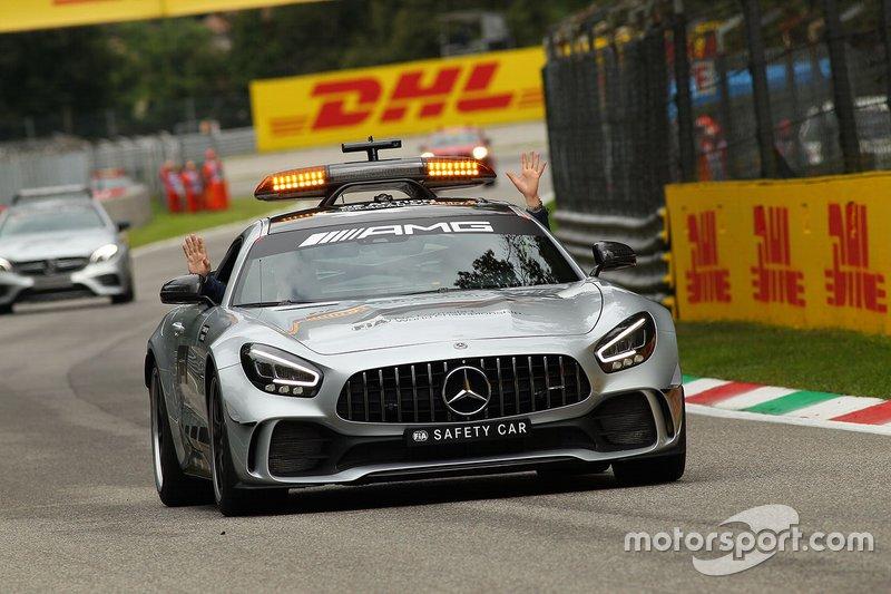 Safety car alla FP2 del GP d'Italia
