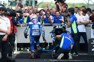 Race winner Alex Rins, Team Suzuki MotoGP