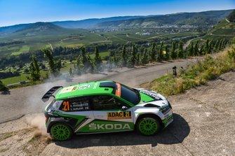 Kalle Rovanperä, Jonne Halttunen, Skoda Motorsport Skoda Fabia R5