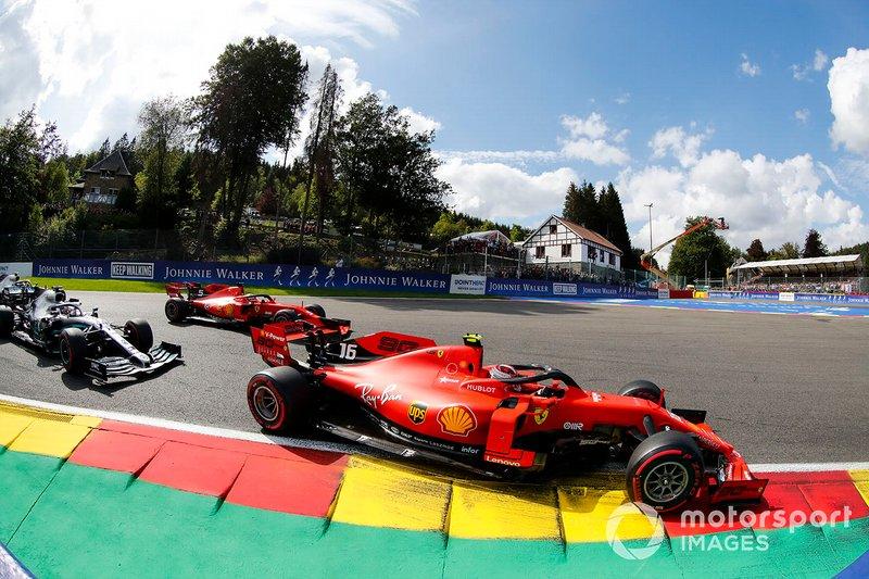 1: Charles Leclerc, 21 años, 10 meses y 16 días en el GP de Bélgica 2019