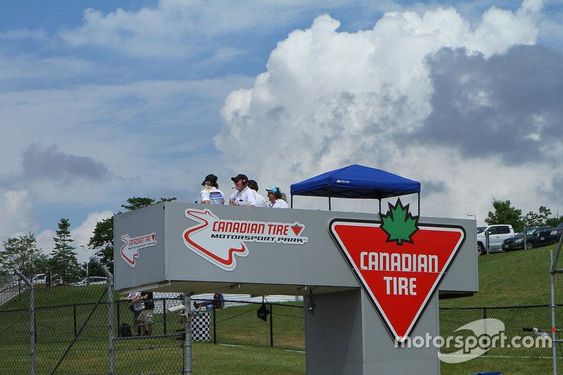Canadian Tire Motorsport Park Tribuna de banderas
