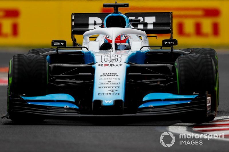 George Russell, Williams Racing: 10 puan