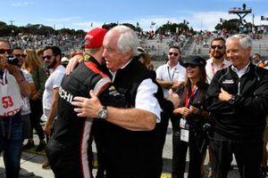 Kampioen Josef Newgarden, Team Penske Chevrolet, Roger Penske