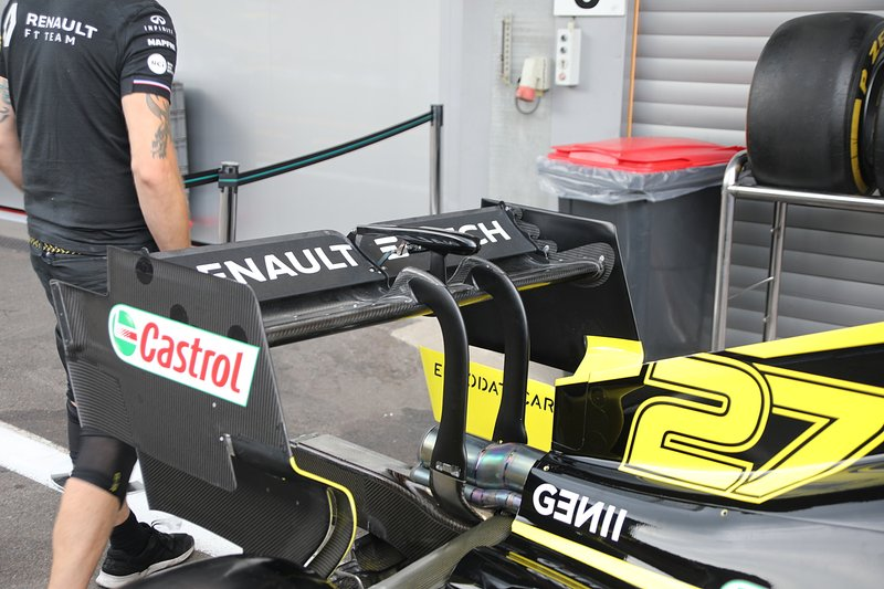 Renault F1 Team R.S.19, rear wing