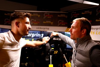 Jake Dennis, R-Motorsport, mit Maxime Martin