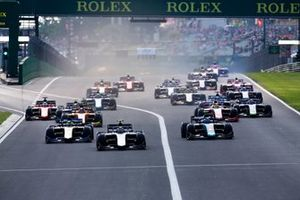 Partenza di gara 1 all'Hungaroring