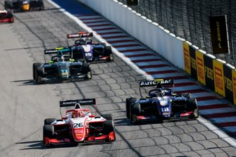 Маркус Армстронг, PREMA Racing, и Педро Пике, Trident