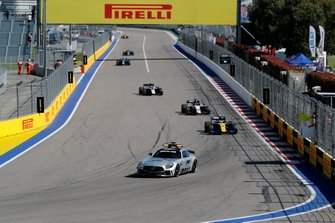 Luca Ghiotto, UNI Virtuosi Racing, Callum Ilott, Sauber Junior Team by Charouz e Nyck De Vries, ART Grand Prix