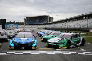 SUPER GT ve DTM grup fotoğrafı, Marco Wittmann, BMW Team RMG, BMW M4 DTM, Jenson Button, Team Kunimitsu Honda, Honda NSX Super-GT