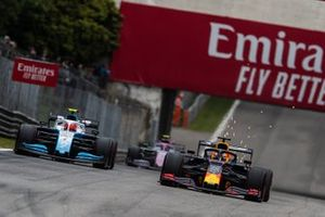 Max Verstappen, Red Bull Racing RB15, Robert Kubica, Williams FW42