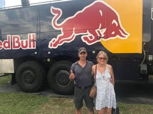 Nicola and Regina, Motorsport.com Switzerland's readers at Red Bull Race Day