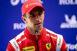 #51 AF CORSE - Ferrari 488 GTE EVO: Alessandro Pier Guidi Qualifying Press Conference, 4 Hours of Silverstone, Silverstone Circuit, Silverstone, Northamtonshire,England