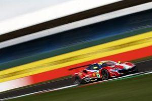 #71 AF Corse Ferrari 488 GTE EVO: Davide Rigon, Miguel Molina