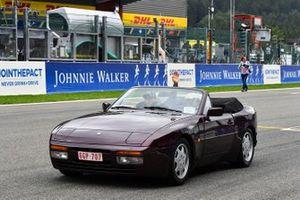Robert Kubica, Williams, en el desfile de pilotos
