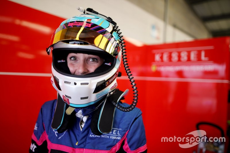 #83 Kessel Racing Ferrari F488 GTE: Manuela Gostner