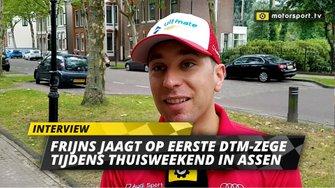 Robin Frijns interview DTM Assen City Demo
