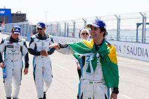 Race winner Sérgio Jimenez, Jaguar Brazil Racing