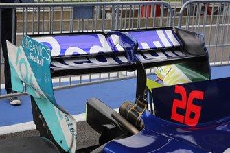 L'aileron arrière de Daniil Kvyat, Toro Rosso STR14