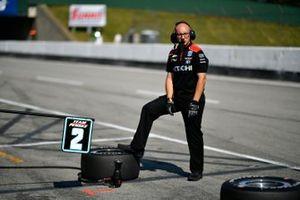 Travis Law, chef mécano de Josef Newgarden, Team Penske Chevrolet