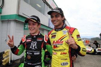 エナム・アーメド(B-Max Racing with motopark)、サッシャ・フェネストラズ(B-Max Racing with motopark)