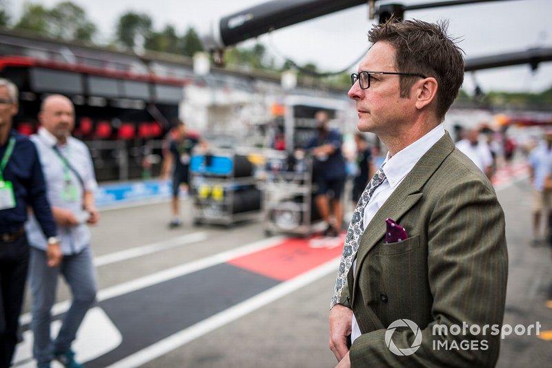 Andrew Shovlin, Ingeniero Jefe de Carreras, Mercedes AMG