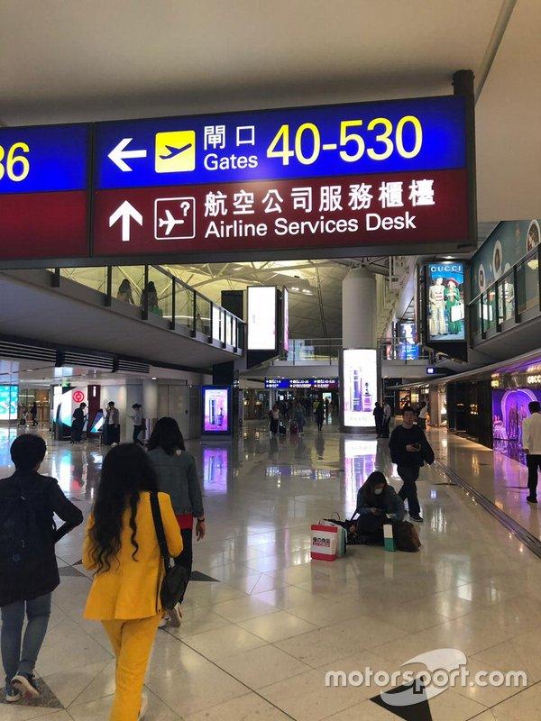 Entre Hong Kong e Sanya, Cacá permaneceu na Ásia, o que não significou mais viagens