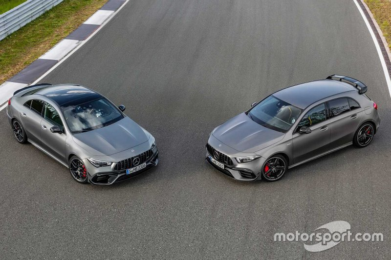 Mercedes-AMG A45 S and CLA 45 S